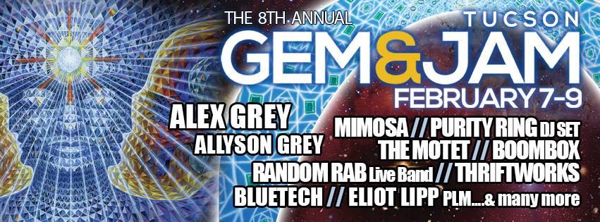 Gem & Jam 2014 Lineup