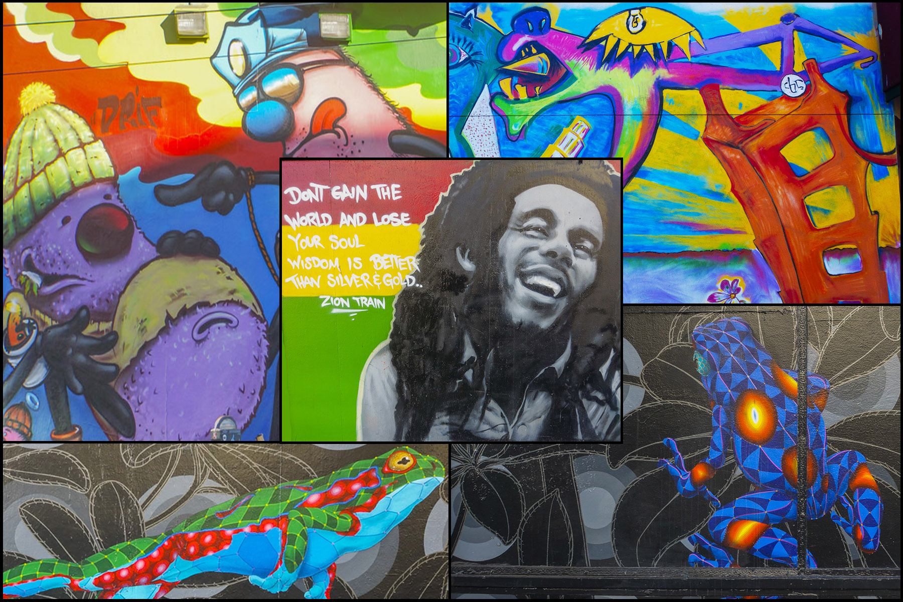 Street Art of Haight and Ashbury